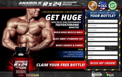 Anabolic Rx24 Singapore & Malaysia - Herbal Male Testosterone Booster